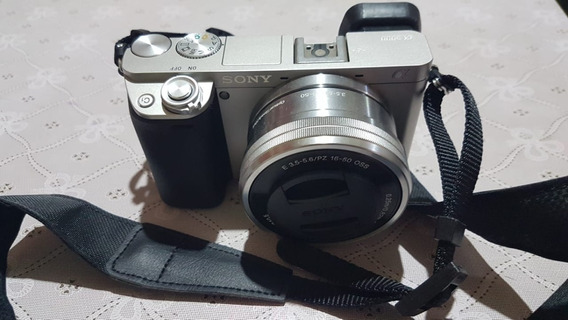 Sony Alpha A6000 Mirrorless Com Lente 16-50mm