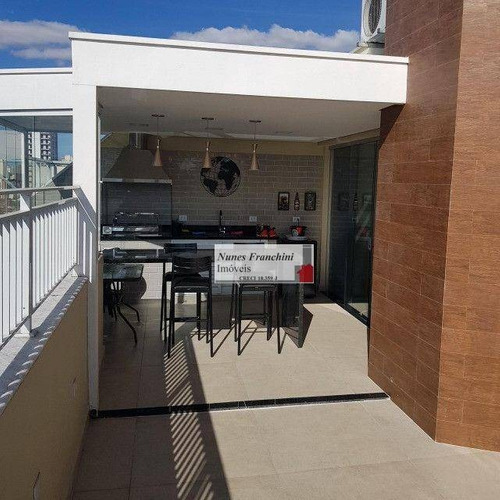 Imagem 1 de 13 de Lauzane/sp - Cobertura 3 Dormitórios, 2 Vagas De Garagem - R$ 795.000,00 - Co0061