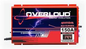 Fonte Carregador Overloud 150 Amp 14,4v Bivolt / Voltimetro