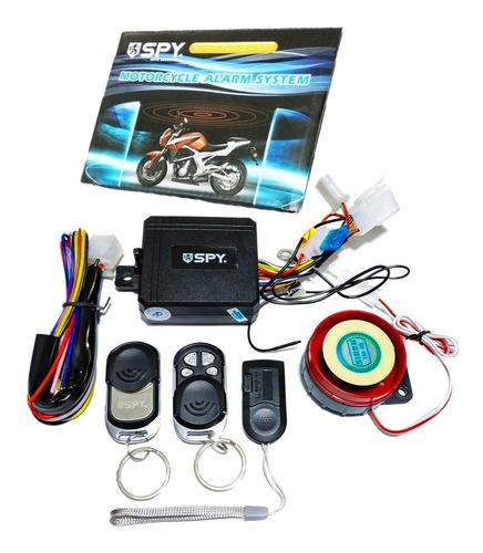 Alarma Para Moto Spy Anti Atraco Por Proximidad 3 Controles