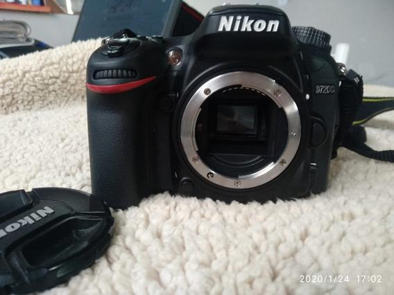 Nikon D 7200 Nova Menos De 2000 Click