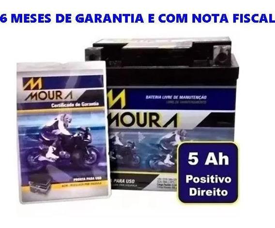 Bateria Moura Nxr Bros 150 2013 2014 Ma5d Ref Ytz 6v