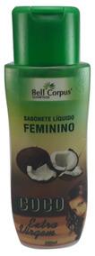 Sabonete Líquido Feminino Coco Extra Virgem 200g