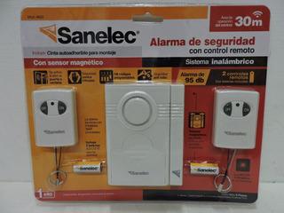 Alarma Inalámbrica Puertas Y Ventanas Con Control