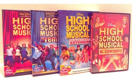 High School Musical La Coleccion En Dvd Disney Nuevo
