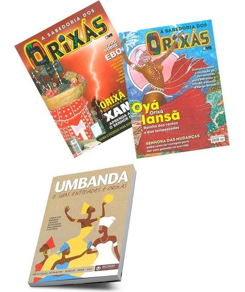Umbanda Entidades Orixás Sabedoria Livro 2 Revistas Novas
