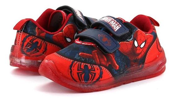 Spider Man Tenis Licencias Rojo