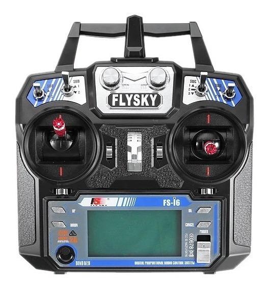 Rádio Controle Transmissor Flysky Fs-i6+receptor Fs-ia6b