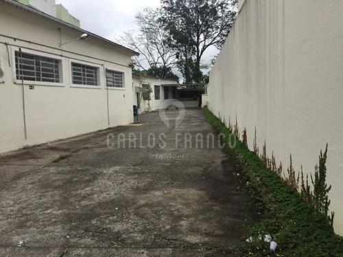 Galpão Comercial Com 1200 Metros, 10 Vagas, 4 Banheiros, 6 Salas Na Granja Julieta  - Cf56314