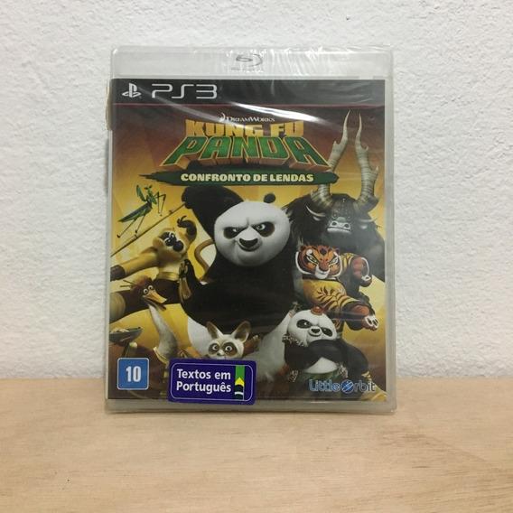 Jogo Ps3 Playstation3 Kung Fu Panda Confronto De Lendas Novo