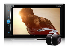 Dvd Player Pioneer Avh-a208bt Bluetooth 2din + Câmera De Ré