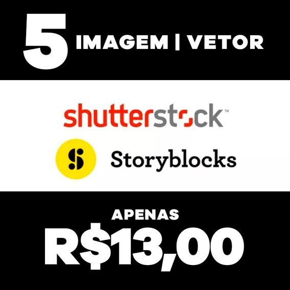 5 Imagens Vetor Shutterstock, Storyblocks Hq Hd