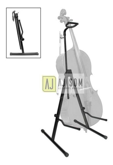 Suporte,apoio P/violoncelo,cello C/apoio De Braço,arco,trava