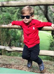 2 Calças Infantil Jeans Regulagem Interna Tamanho 2019
