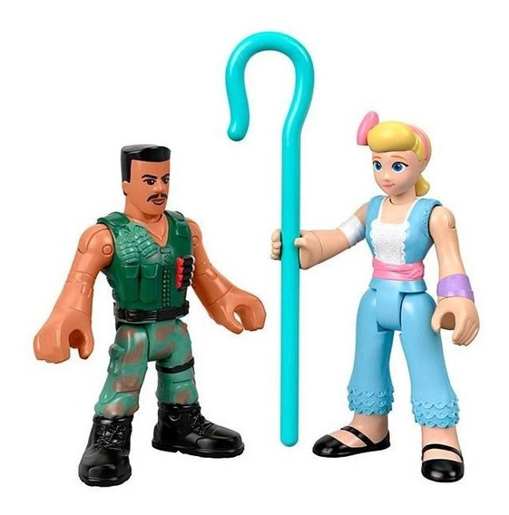 Toy Story 4 Imaginext Toy Bo Peep E Combate Carl - Mattel