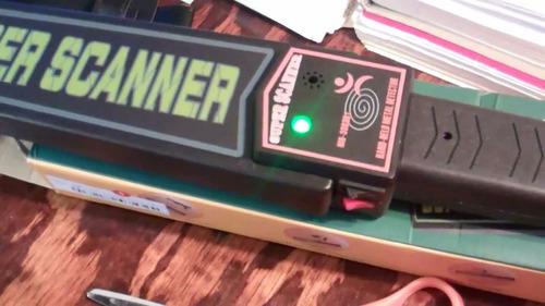 Super Scanner  Detector De Metal Para Casinos