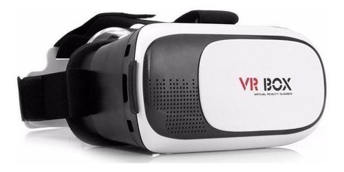 Vr Box 2.0 Anteojos 3d Realidad Virtual Gafas Casco P Celu