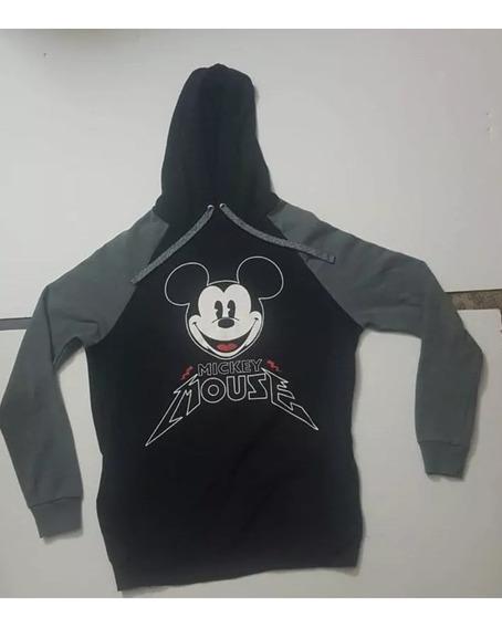 Sudadera Hoodie Hombre Mickey Mouse Heavy Disney Máscara De