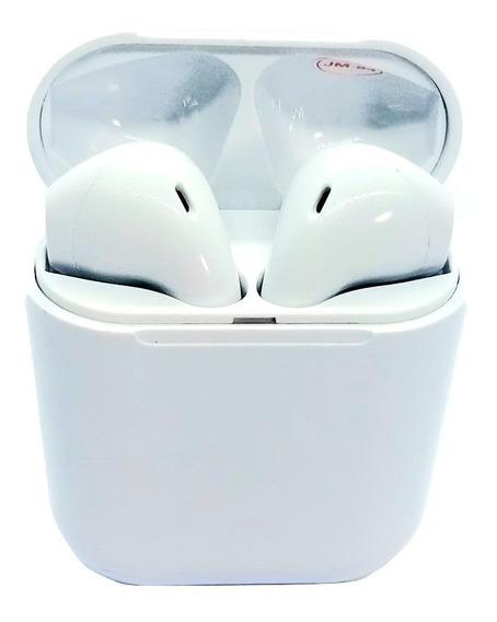 Fone De Ouvido Tws I12 Sem Fio Bluetooth Recarregável