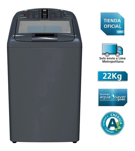 Lavadora Automática 22kg Mabe Lma72200wdbb1