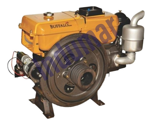 Motor Diesel 18 Hp Partida Eletrica Marca Buffalo