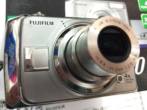Câmera Fujifilm Finepix A900 C Cartão, Pilhas E Carregador