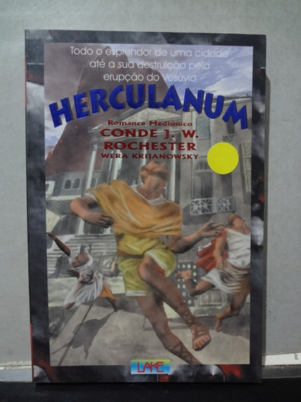 Livro Herculanum J. W. Rochester