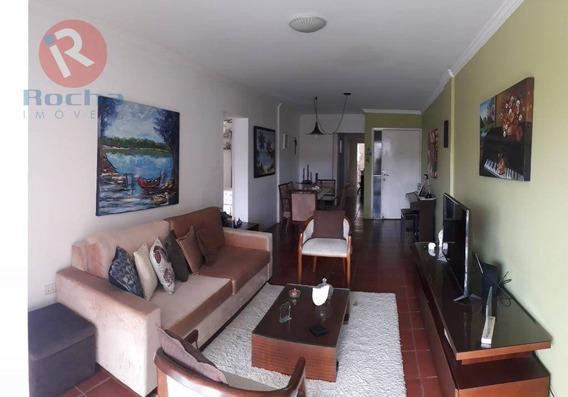 Apartamento Com 3 Dormitórios À Venda, 120 M² Por R$ 350.000 - Casa Amarela - Recife/pe - Ap3256