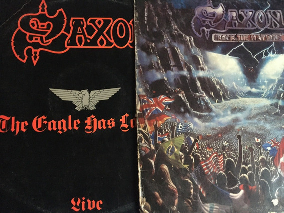 Saxon - Lote Com 2 Lps - (capa Ruím) -