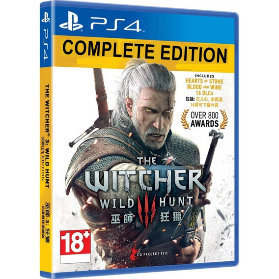 The Witcher 3 Complete Edition Ps4 Midia Fisica Cd Original