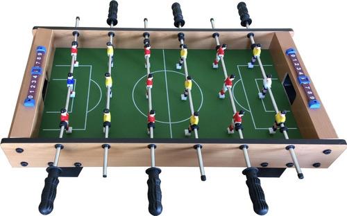 Mini Mesa Pebolim Grande Totó Futebol 18 Jogadores Completa