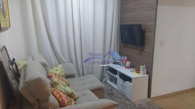 Apartamento Com 2 Dormitórios À Venda, 48 M² Por R$ 197.500 - Cidade Líder - São Paulo/sp - Ap0070