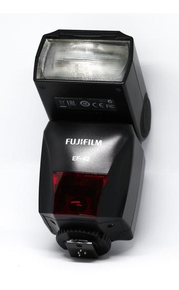 Flash Ttl Fujifilm Ef-42 Top De Linha