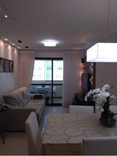 Imagem 1 de 24 de Apartamento 3 Quartos Sendo 1 Suíte 90m2 A Venda Na Pituba No Loteamento Aquarius - Sfl622 - 69488505