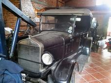 Ford T 1927 En Muy Buen Estado, Funcionando Y Con Papeles-