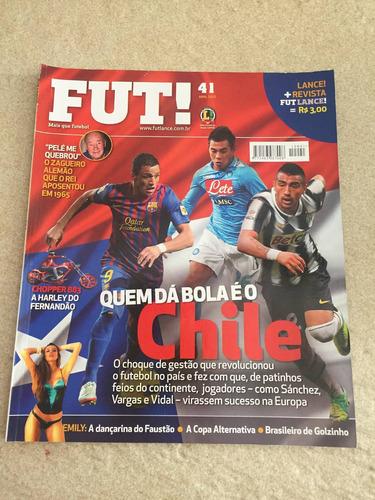 Revista Fut Lance 41 Chile Dante Rubén Amorim 2012 M232
