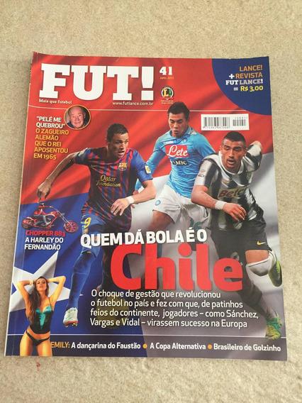 Revista Fut Lance Chile Dante Rubén Amorim N°41 Ano 2012