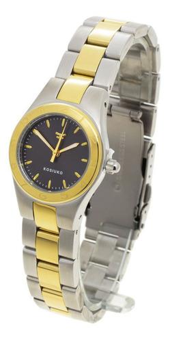 Reloj Kosiuko Mujer 854a - Sumergible Acero 316 Clásico Wr50