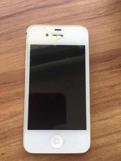 Celular iPhone 4s 16gb Branco C/ Dock