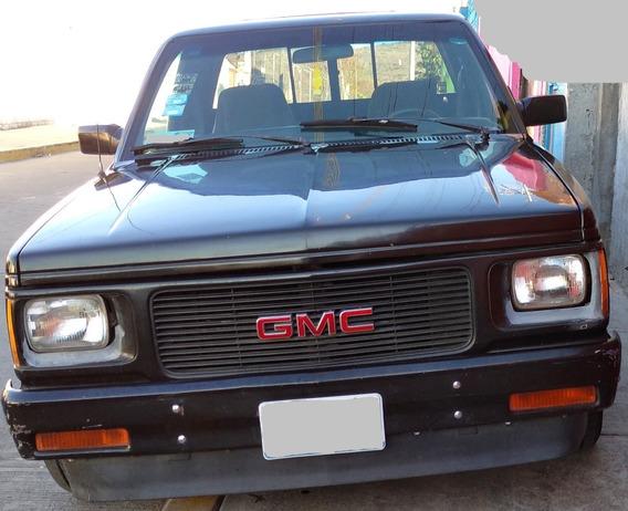 Camioneta Gmc 1983 Con Quemacocos Negra 6 Cilindros Antigua
