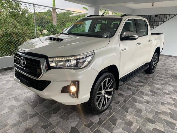 Toyota Hilux Blanca 2018 Kit 2019