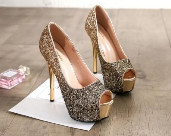 Sapato Feminino Super Luxo Importado - Frete Grátis