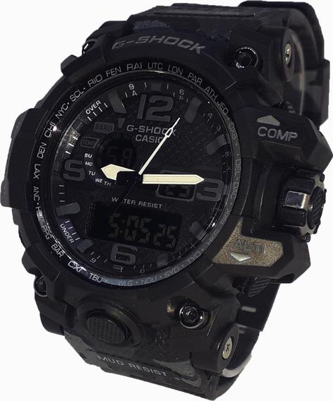 Relógio Casio G-shock Preto Camuflado Masculino