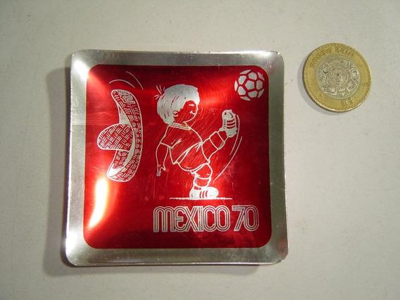 Mini Platito Botanero Charolita México 1970 Juanito Rojo