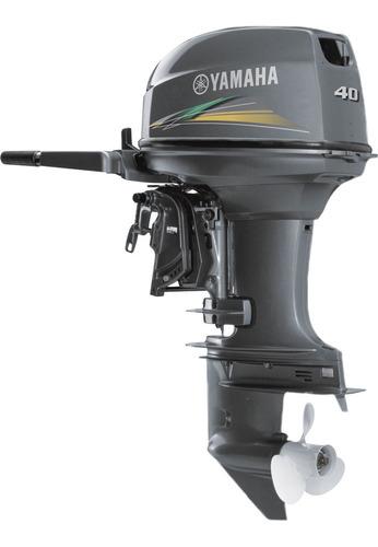 Motor De Popa Yamaha 40hp Amhs 2 Tempos