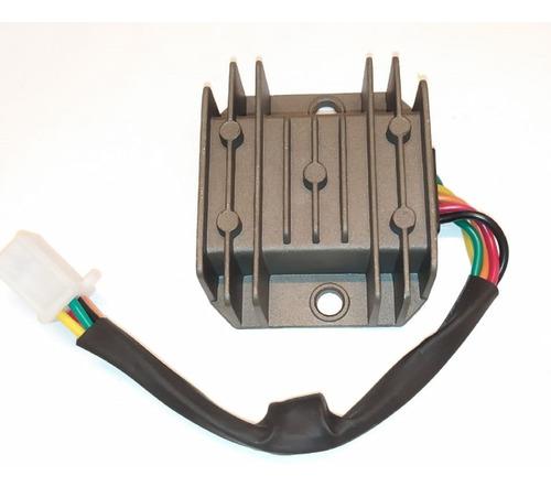Imagen 1 de 2 de Rectificador Regulador  Con Condensador 5 Cables Gs2 Cg Gt