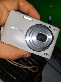 Câmera Fotográfica Sansung Lens+ Cartão De Memoria St150
