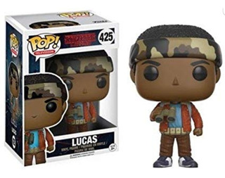 Funko Pop Lucas # 425 Stranger Things Netflix Television