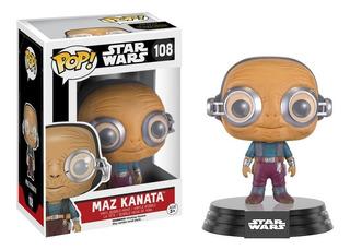 Funko Pop Maz Kanata 108 - Star Wars - Original - Lna Games