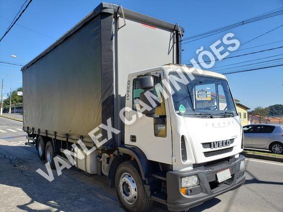 Iveco Tector 240e22 Trucado 6x2 Bau Sider Ñ Atego 2426